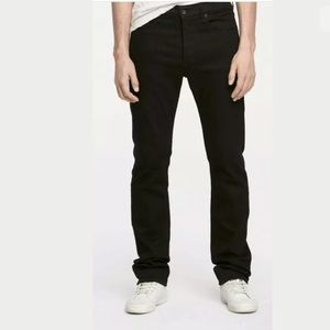 RAG & BONE Fit 3 Black Wash Classic Jeans 34